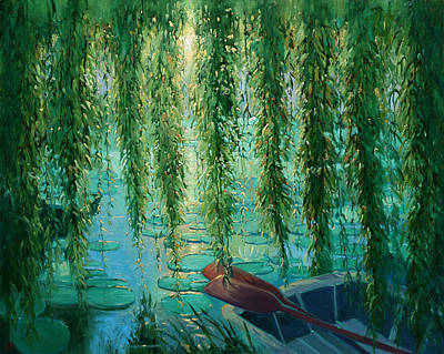Willow Wall Poster by Robert Lewis