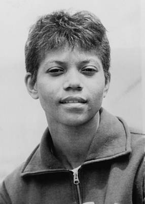 Wilma Rudolph, 1940-1994, Was The First Poster by Everett