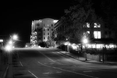 Wilmington's Walnut Street At Night Poster by Greg Mimbs