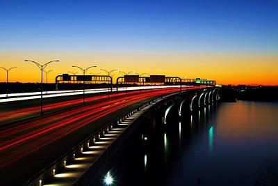 Wilson Bridge Poster by Mitch Cat