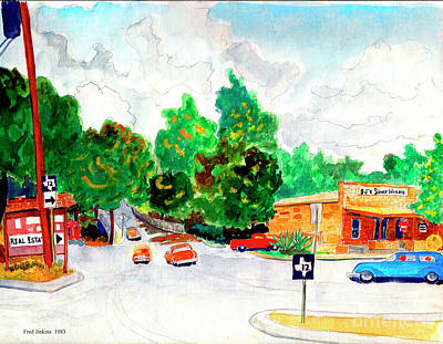Wimberley Texas  Poster by Fred Jinkins