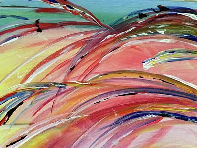 Windblown Sunset Poster