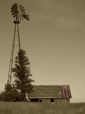Windmill II Poster