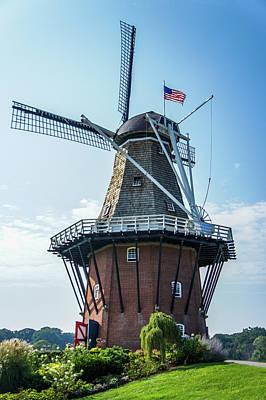 Windmill Island, Holland Michigan Poster by Art Spectrum