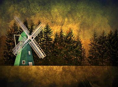 Windmill On My Mind Poster by Evelina Kremsdorf