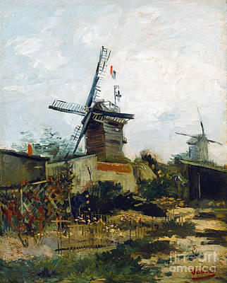 Windmills Poster by Van Gogh