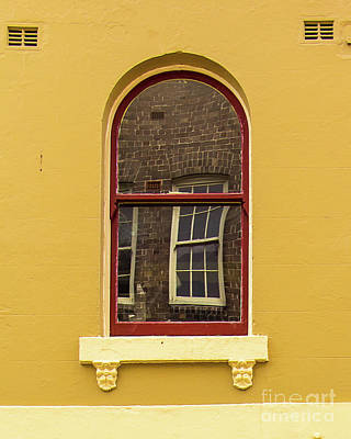 Poster featuring the photograph Window And Window 2 by Perry Webster