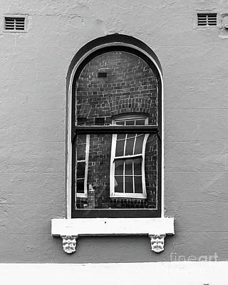 Poster featuring the photograph Window And Window by Perry Webster