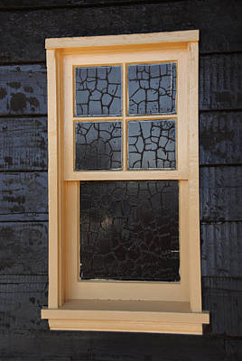 Window Crackle Poster
