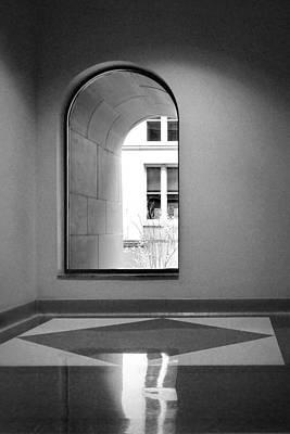Window - Harold Washington Library - Chicago Poster