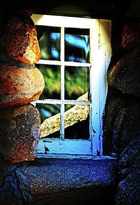 Window In Rock Poster