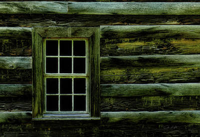 Window In Time Poster by Elijah Knight