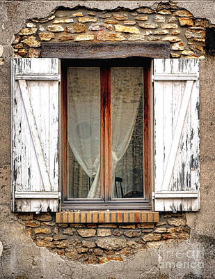 Window In Time Poster by Olivier Le Queinec