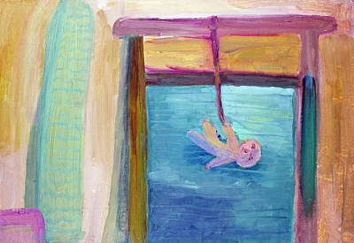 Window  Of My Childhood Poster by Aleksandr Volkov