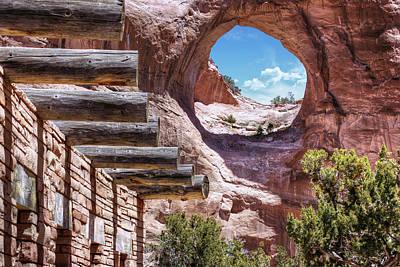 Window Rock - Arizona - Navajo Nation Capital Poster by Gregory Ballos