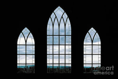 Poster featuring the photograph Window To God's Country by Brad Allen Fine Art