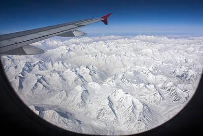 Window To Himalaya Poster by Hitendra SINKAR