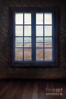 Window With Sea View Poster by Mythja Photography