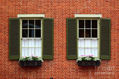 Windows And Shutters In Frederick Maryland Poster