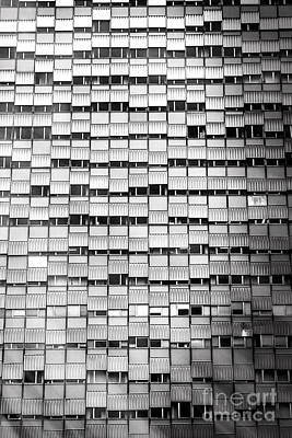 Windows - Black And White Poster
