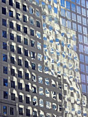 Poster featuring the photograph Windows Of 2 World Financial Center 2 by Sarah Loft