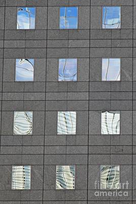 Poster featuring the photograph Windows Of 2 World Financial Center   by Sarah Loft
