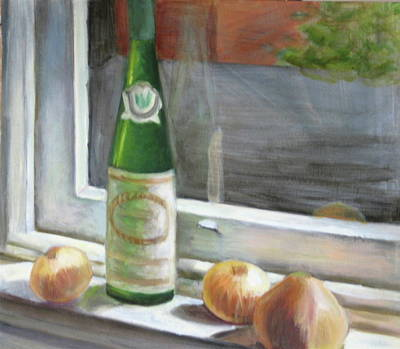 Windowsill Still Life Poster