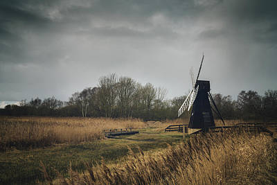 Poster featuring the photograph Windpump by James Billings