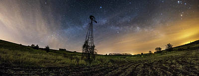 Winds Of Time Poster by Aaron J Groen