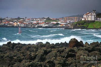 Windsurfer In Sao Roque Poster by Gaspar Avila
