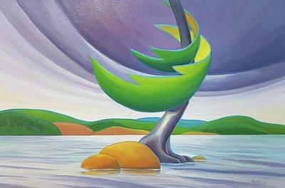 Windswept II Poster