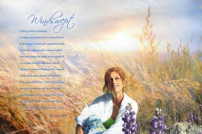 Windswept Poem Poster by Korrine Holt