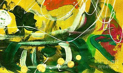 Windswept V Poster by Angela L Walker