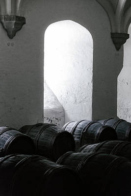 Wine Cellar Poster by Joana Kruse