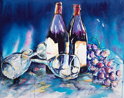 Wine For Two Poster