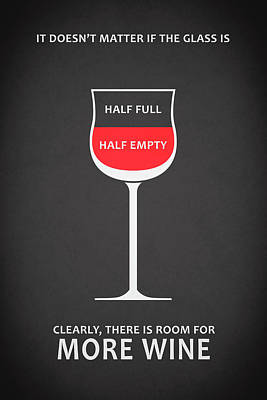 Wine Glasses 1 Poster