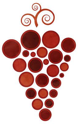 Wine Grape Poster