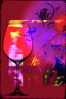 Wine Pairings 1 Poster by Priscilla Huber