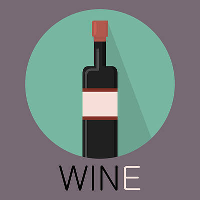 Wine Poster Print - Win And Wine Poster by Beautify My Walls