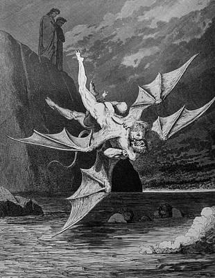 Winged Foes Poster by Douglas Barnett