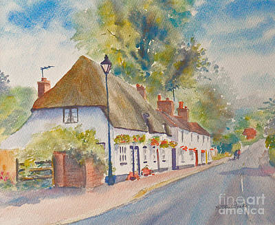 Poster featuring the painting Wingham Nr.canterbury by Beatrice Cloake