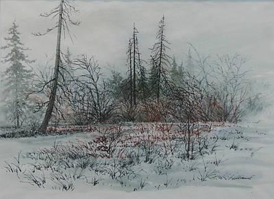 Winter, Alberta Poster