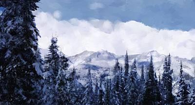 Winter At Revelstoke Poster