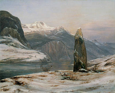 Winter At The Sognefjord Poster