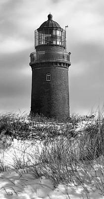 Winter Baltic Sea Lighthouse Poster by Daniel Hagerman