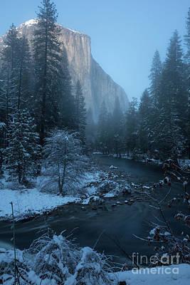 Winter El Cap  Poster