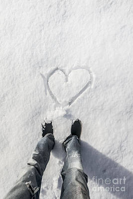 Winter Holiday Love Poster by Jorgo Photography - Wall Art Gallery