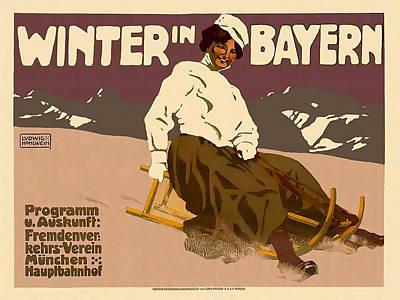 Winter In Bayern Poster