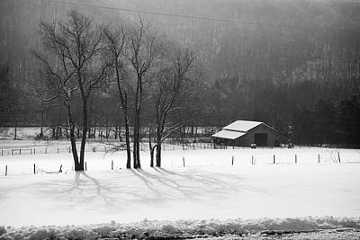 Poster featuring the photograph Winter In Boxley Valley by Michael Dougherty