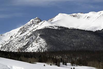 Winter In Summit County Colorado Poster